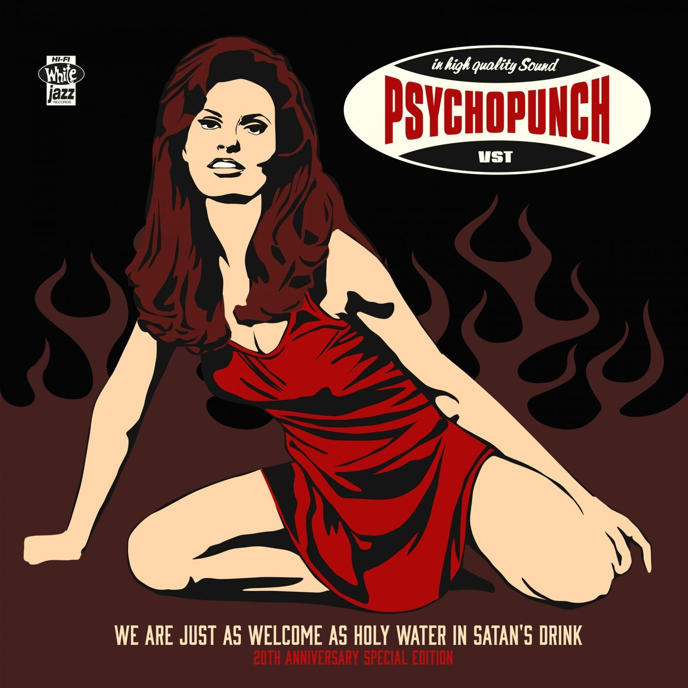 Psychopunch - We Are Just as Welcome as Holy Water in Satan's Drink (2019)