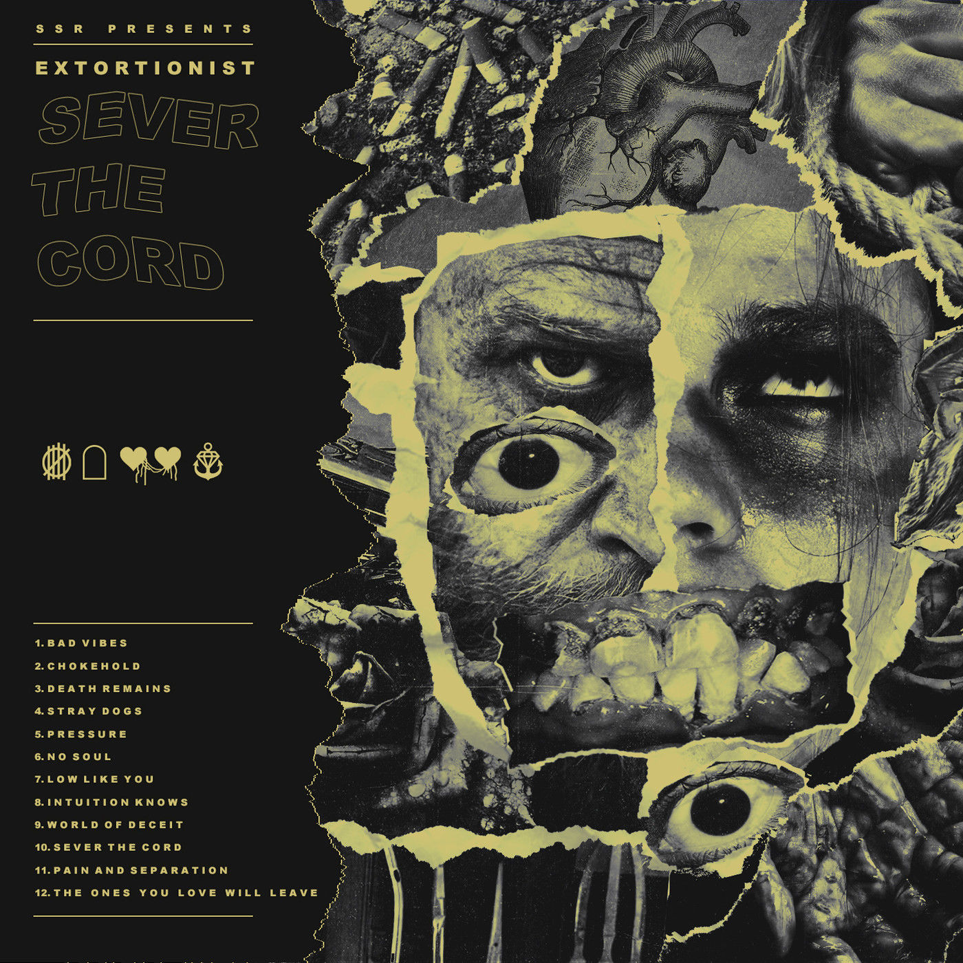 Extortionist - Sever the Cord (2019)
