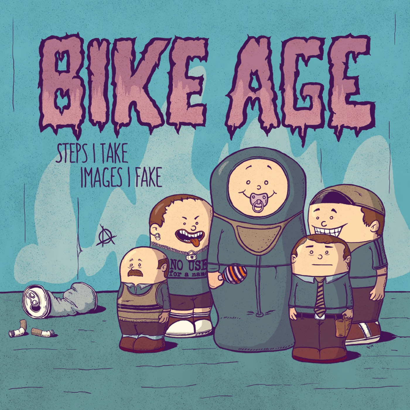 Bike Age - Steps I Take - Images I Fake (2019)