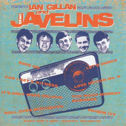 Ian Gillan & The Javelins - Raving With Ian Gillan & The Javelins (2019)