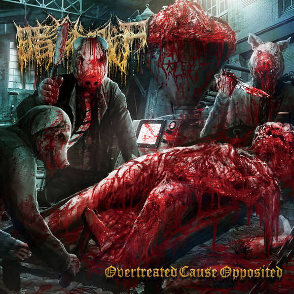 The Dark Prison Massacre - Overtreated Cause Opposited (2019)