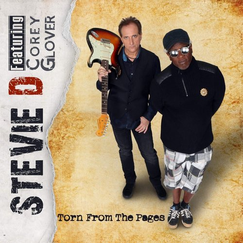 Stevie D (featuring Corey Glover) - Torn From The Pages (2019)
