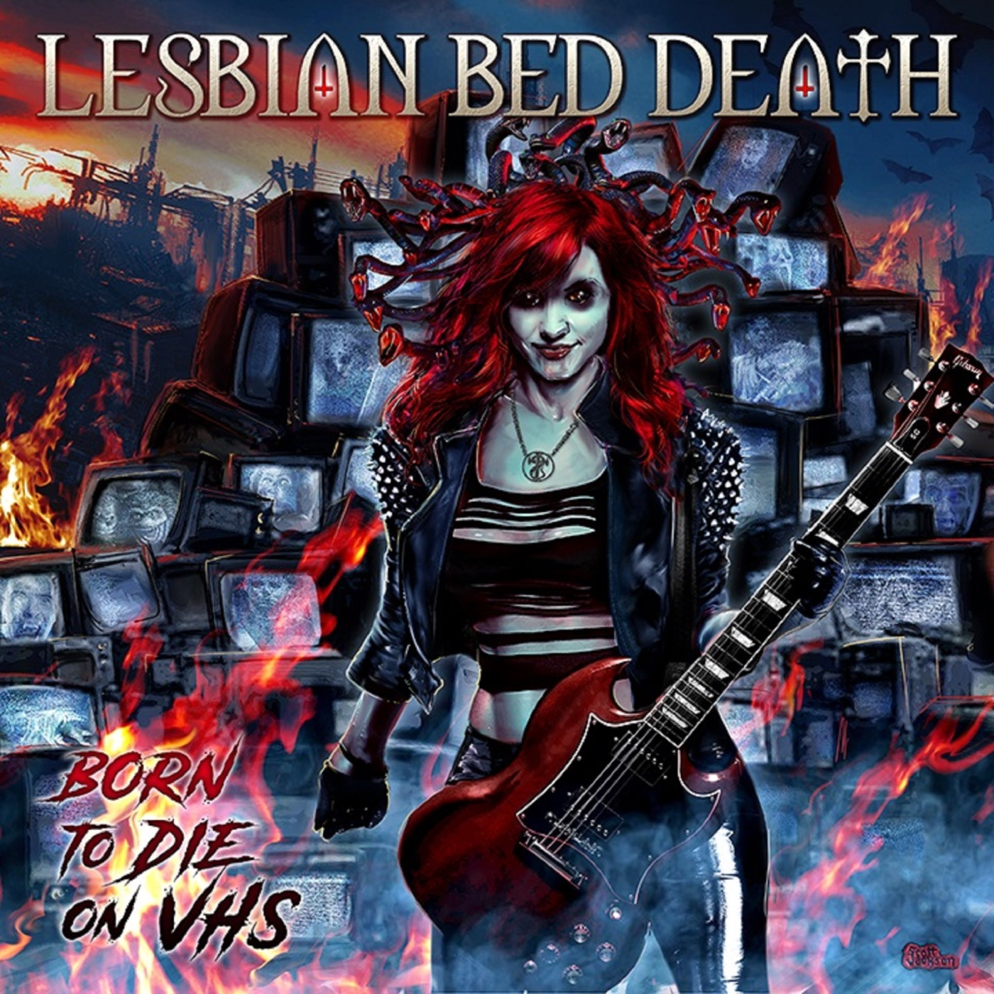 Lesbian Bed Death - Born to Die on VHS (2019)