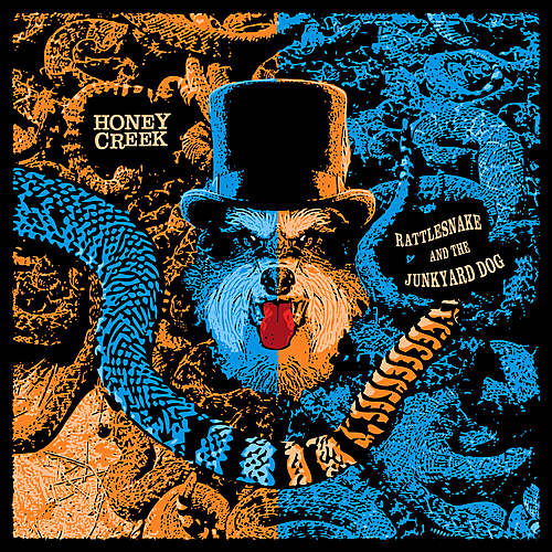 Honey Creek - Rattlesnake And The Junkyard Dog (2019)