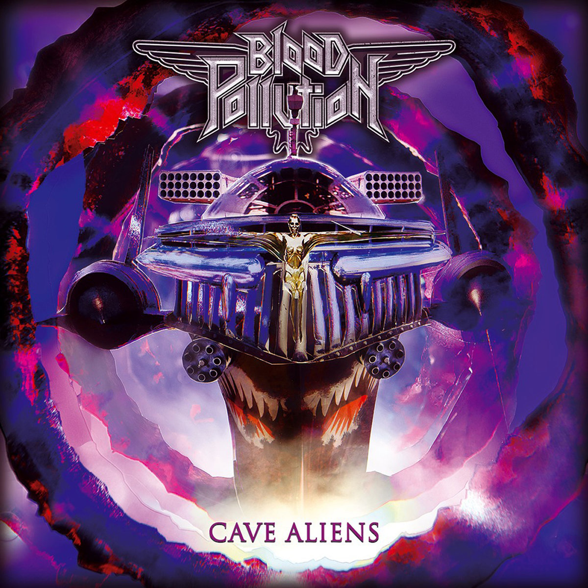 Blood Pollution - Cave Aliens (2019)