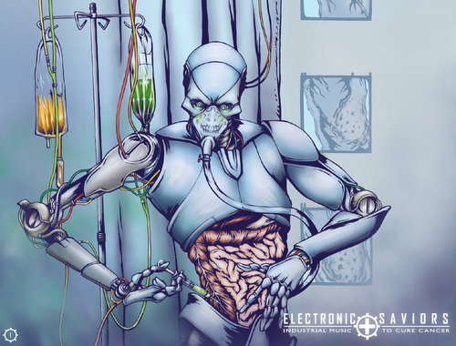Electronic Saviors: Industrial Music To Cure Cancer Volume 1-5 (2010-2018)