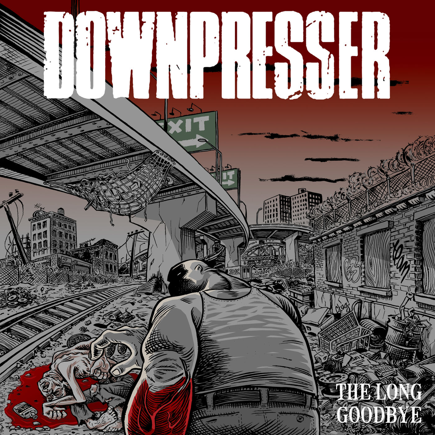 Downpresser - The Long Goodbye (2019)