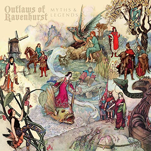 Outlaws Of Ravenhurst - Myths & Legends (2019)