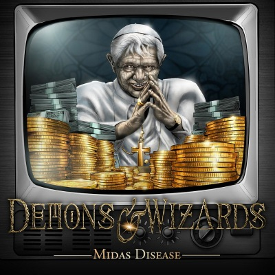 Demons & Wizards - Midas Disease (Single) (2020)