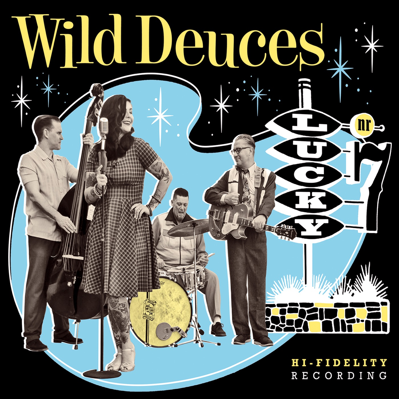 Wild Deuces - Lucky Nr. 7 (2019)